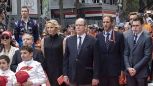 Princess Charlène and Prince Albert of Monaco