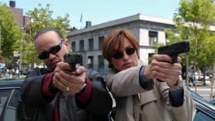 Ice T. y Mariska Hargitay en una escena de la serie 'La ley y el orden: UVE'