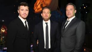 Garrett Hedlund, Charlie Hunnam y Ben Affleck