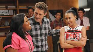 Amber Riley, Matthew Morrison, and Naya Rivera in 'Glee'
