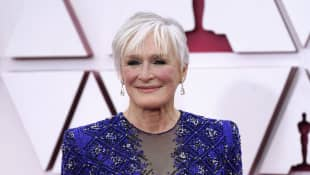 Glenn Close Reveals Her Iconic Oscars 2021 Dance Was Unscripted