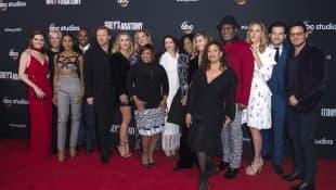 'Grey's Anatomy' cast and crew