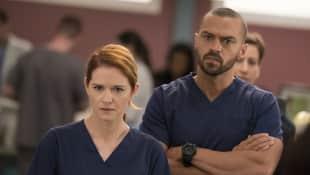 """""""Grey's Anatomy"""": Sarah Drew and Jesse Williams"""