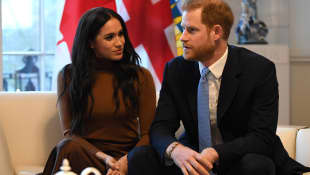 "Harry and Meghan Are Speaking To ""People On All Levels"" About The BLM Movement"