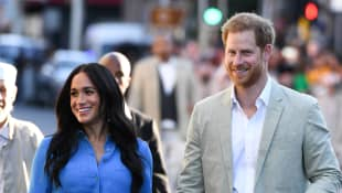 Harry and Meghan Volunteer To Deliver Meals In Los Angeles During The COVID-19 Crisis