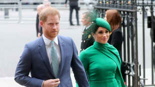 Harry and Meghan said a final farewell to their UK staff by taking them to lunch