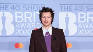 Harry Styles asiste a los BRIT Awards 2020, 18 de febrero de 2020