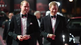 El príncipe William y el príncipe Harry