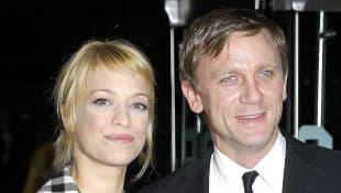 Heike Makatsch and Daniel Craig