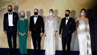 Helen Mirren, Prince Albert II of Monaco, Princess Charlene of Monaco, Andy Garcia, Kate Beckinsale