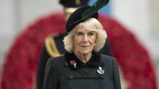 Duchess Camilla opens the 92nd Field of Remembrance