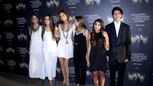 América, Camila, Emiliano y Valentina Fernández