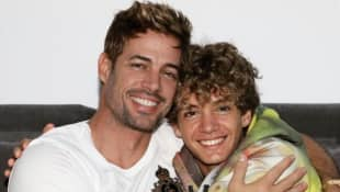 William Levy e hijo Christopher