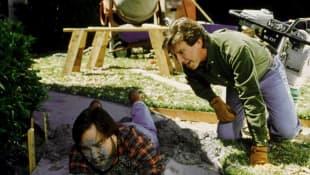 Tim Allen and Richard Karn in 'Home Improvement'