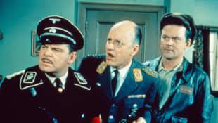 Howard Caine, Werner Klemperer, Bob Cranem in Hogan's Heroes