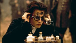 Johnny Depp es Ichabod Crane en 'Sleepy Hollow'