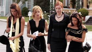 Felicity Huffman, Marcia Cross, Eva Longoria y Teri Hatcher