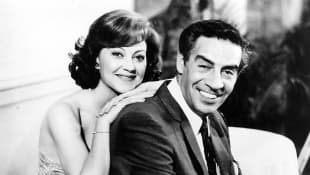 Kelly Bishop and Jerry Orbach