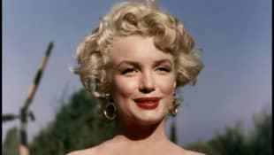 "Marilyn Monroe starring in the film ""Niagara""."