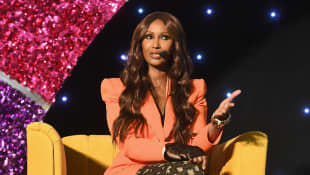 """Iman Reflects On Relationship With Her """"True Love"""" David Bowie"""