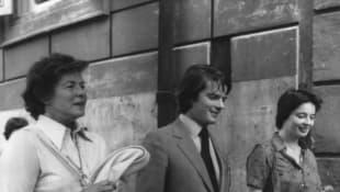 Ingrid Bergman, Robert Robert Rossellini Jr., and Isabella Rossellini