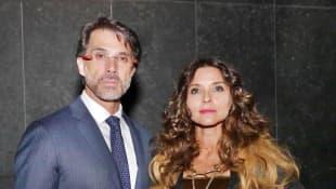 Sergio Mayer e Issabela Camil