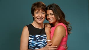 Ivonne Coll and Andrea Navedo from 'Jane the Virgin'
