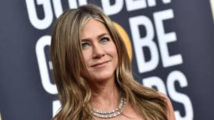 Jennifer Aniston reunites with two former co-stars in latest Instagram post.