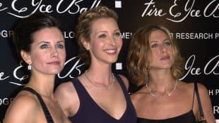 Jennifer Aniston, Courteney Cox and Lisa Kudrow