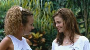 Jennifer Taylor y Denise Richards en 'Wild Things'