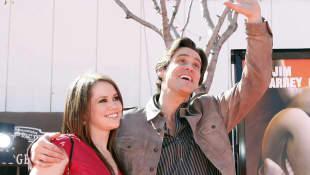 Jim Carrey y Jane Carrey