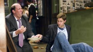 John Krasinski and Brian Baumgartner in 'The Office'