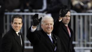 Hunter Biden, Joe Biden y Beau Biden