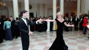 "John Travolta Dancing With Princess Diana Was Like ""A Fairytale"""