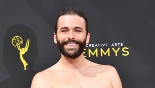 Jonathan Van Ness attends the 2019 Creative Arts Emmy Awards on September 14, 2019