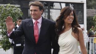 Juan Soler y su esposa Maki