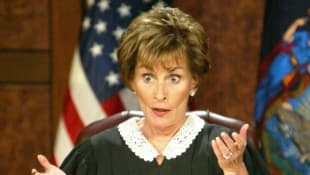 Judge Judy Sheindlin on 'Judge Judy'