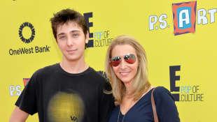 Lisa Kudrow y Julian Murray