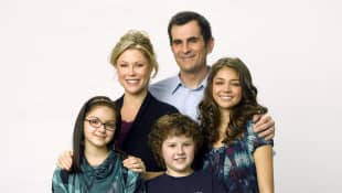Julie Bowen and the cast of 'Modern Family'