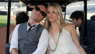Johnny Galecki y Kaley Cuoco