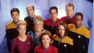 El elenco de 'Star Trek: Voyager'
