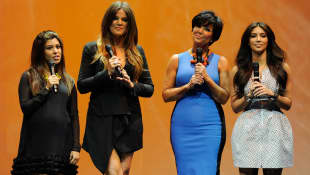 Kourtney Kardashian, Khloe Kardashian, Kris Jenner y Kim Kardashian