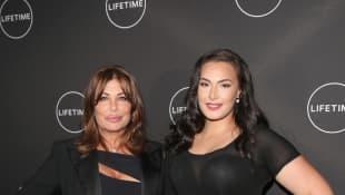 Kelly LeBrock and Arissa LeBrock