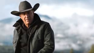 "Kevin Costner as the patriarch ""John Dutton"" in the Paramount Network TV hit Yellowstone."