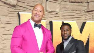 Dwayne Johnson y Kevin Hart