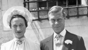 Edward VIII, former King of England and Wallis Simpson
