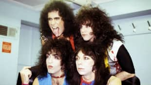 Gene Simmons, Eric Carr, Paul Stanley, and Vinnie Vincent of 'KISS'