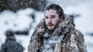 "Kit Harington as ""Jon Snow"" in season 7 of HBO's Game of Thrones."