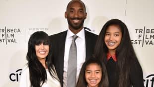 Kobe, Vanessa, Natalia and Gianna Bryant