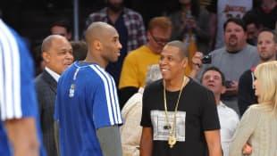 Jay-Z and Kobe Bryant